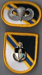 Special Warfare Education Group - Flash Di Crest Oval Wings Operations Forces