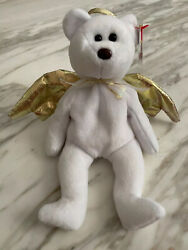 Ty Beanie Baby Halo Ii In Excellent Condition With Plastic Covering On Tag.