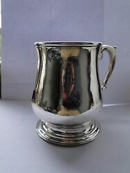 Large Sized Sterling Silver Beer Stein, Great Shape, Game Of Thrones John Snow