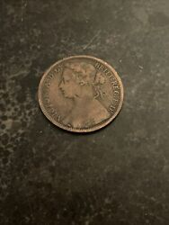 High Grade 1874-h One Penny Great Britain. 34