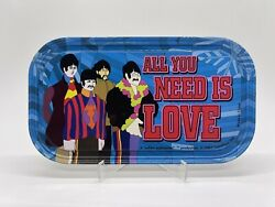 The Beatles All You Need Is Love Mini Metal Tin Sign Magnet Subafilms