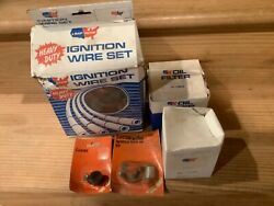 Assorted Vintage Ignition Parts And Oil Filter For Triumph Tr250 Nos