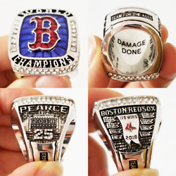 2018 2019 NEW OFFICIAL Boston Red Sox Championship Ring World Series Size 8 14