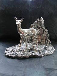 Bambi Sterling Silver Miniature, Italian 1950, Fully Marked, Great Quality