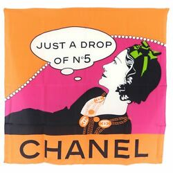 Limited Edition Just A Drop Of No. 5 Silk Scarf
