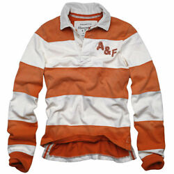 Abercrombie And Fitch Solid Rugby Casual Shirts Nwt Authentic Items