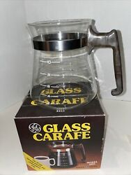 Vintage General Electric Glass Carafe Model 3351 Coffee Accessory 10 Cup