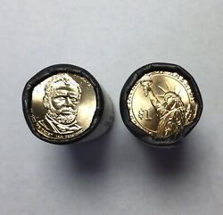 2012 Ulysses S. Grant Pandd Dollar Us Mint Roll 50 1 Coins Non-circulating