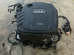 Audi A4 2015 S Line Complete Engine 6 Speed Manual Gearbox 82000 Fuel Pump Cgl C