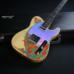 Fender Jimmy Page Telecaster -dragon / Natural- Used Electric Guitar