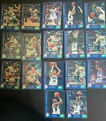 95/96 Uconn Mens Basketball Card Set Includes Ray Allen Travis Knight Rare