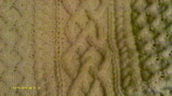 Braided Cables Afghan -- Hand Knit