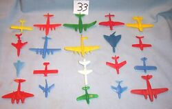 Lido Marx Renwal Cracker Jack Multiple Products Toymakers Mpc Planes Playset 33