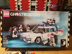 Lego Ghostbusters Ecto-1 And Figures Complete In Original Box 508 Pcs No. 21108