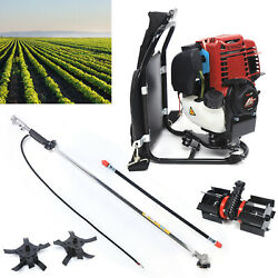 Backpack 4-strokes 3 In 1 Gasoline Cutter Grass Trimmer Lawn Mower Tree Pruner