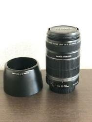 Canon Efs 55-250mm F4-5.6 Is Zoom Telephoto Image Stabilizer Camera Lens Hood