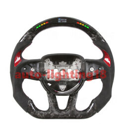 Customized Forged Carbon Fiber Steering Wheel For Dodge Charger Challenger Srt