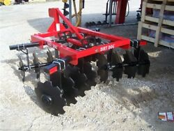 New Dirt Dog Hd 6 Ft Disc Harrow Model 200-5 Free 1000 Mile Delivery From Ky