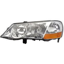 For Acura Tl 2002 2003 Left Driver Side Headlight Assembly Dac