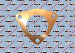 1936-1951 Buick Exhaust Manifold Valve Body Gasket. Series 60708090. Copper