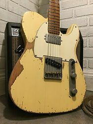 Usa Relic Fender American Telecaster Hs Electric Guitar By Nateand039s Relic Guitars