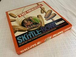 The Original Vintage Wood Aurora Skittle Bowl Game - Family Bowling In A Box