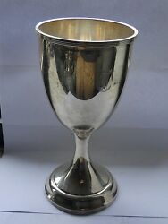 Sterling Silver Goblet, American 1930 Schofield, Fully Marked , Vintage Item
