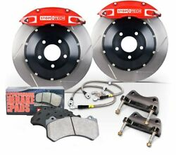 Stoptech 83.788.4700.71 Front Wheel Slotted Big Brake Kit For 911 H6 3.6l