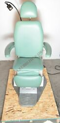 Global Smr Maxiselect S270000 Ent Power Exam Chair With Full Swivel - Pea Green