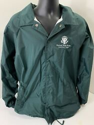 George W Bush Western White House Presidential Jacket Green Size Xl Extra Large