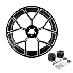 18and039and039 X 3.5and039and039 Front Wheel Rim Dual Disc Wheel Hub Fit For Harley Road King 08-21