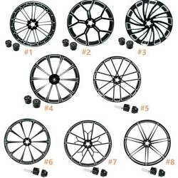 18and039and039 Front Wheel Rim Hub Single/dual Disc Fit For Harley Touring Road King 08-21
