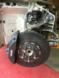 2014 Ferrari 458 F1 Coupe Used Right Front Suspension Arms Knuckle Caliper Rotor