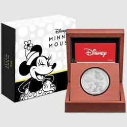 2019 Niue 2 Fine Silver - Mickey Mouse And Friends - Minnie Mouse /2000