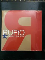 Rufio - Perhaps I Suppose Lp 2020 Vinyl Clear Splatter Brand New Sealed