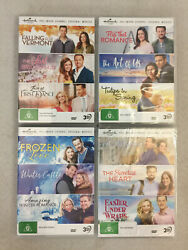 Hallmark Original Movies 3-dvd Collections Winter Castle The Art Of Us Lot Of 4
