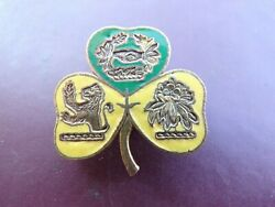 Wwii 38th Division Military Police Dui Di Us Army Mp Crest Pin Rare Meyer Ny Sb