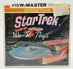View-master Showtime Star Trek 21 Stereo Pictures Gaf 1968 Paramount Sealed B499