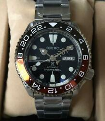 Seiko 5 Sports Mod Srpd57k1 Day-date Automatic Blue Dial Watch