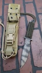 Strider Knives Mt 10 Chuck Mawhinney Sniper Usmc Knife Electronic Signed Rare