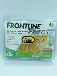Frontline Plus Flea And Tick Treatment For Cats 6 Doses Brand Usa / Epa Approved