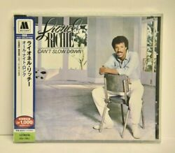 Lionel Richie - Can't Slow Down - Limited Edition - Japan - Sealed