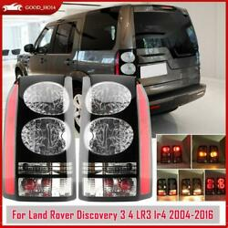 1pair Tail Light For Land Rover Discovery Lr3 Lr4 2004-2014 2015 2016 Rear Lamp