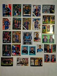 Lot Panini Topps Cards Stickers X 26 Mbappe Rookie,