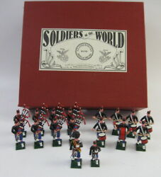 Soldiers Of The World Le 25/100 Lead Leathernecks Pipe And Drum Band Lpb/2 17pc