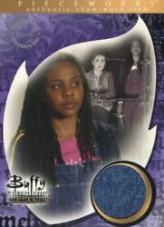 Buffy The Vampire Slayer Memories Overalls Pieceworks Costume Card Pw15