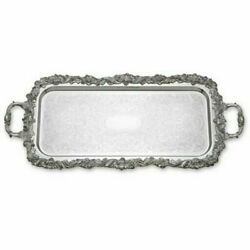 Reed And Barton Sheffield Embossed Cocktail Tray S201 Damaged Box