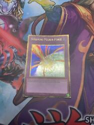 Yugioh Storming Mirror Force PGL3 Gold Rare 1st Edition MP