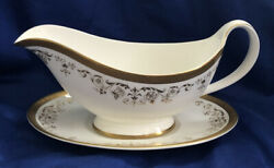 Royal Doulton Belmont Gravy Boat And Underplate Fine Bone China Discontinued