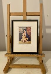 Peter Blake Christmas Card Ltd Edition Signed And Inscribed Hand Finished Glitter